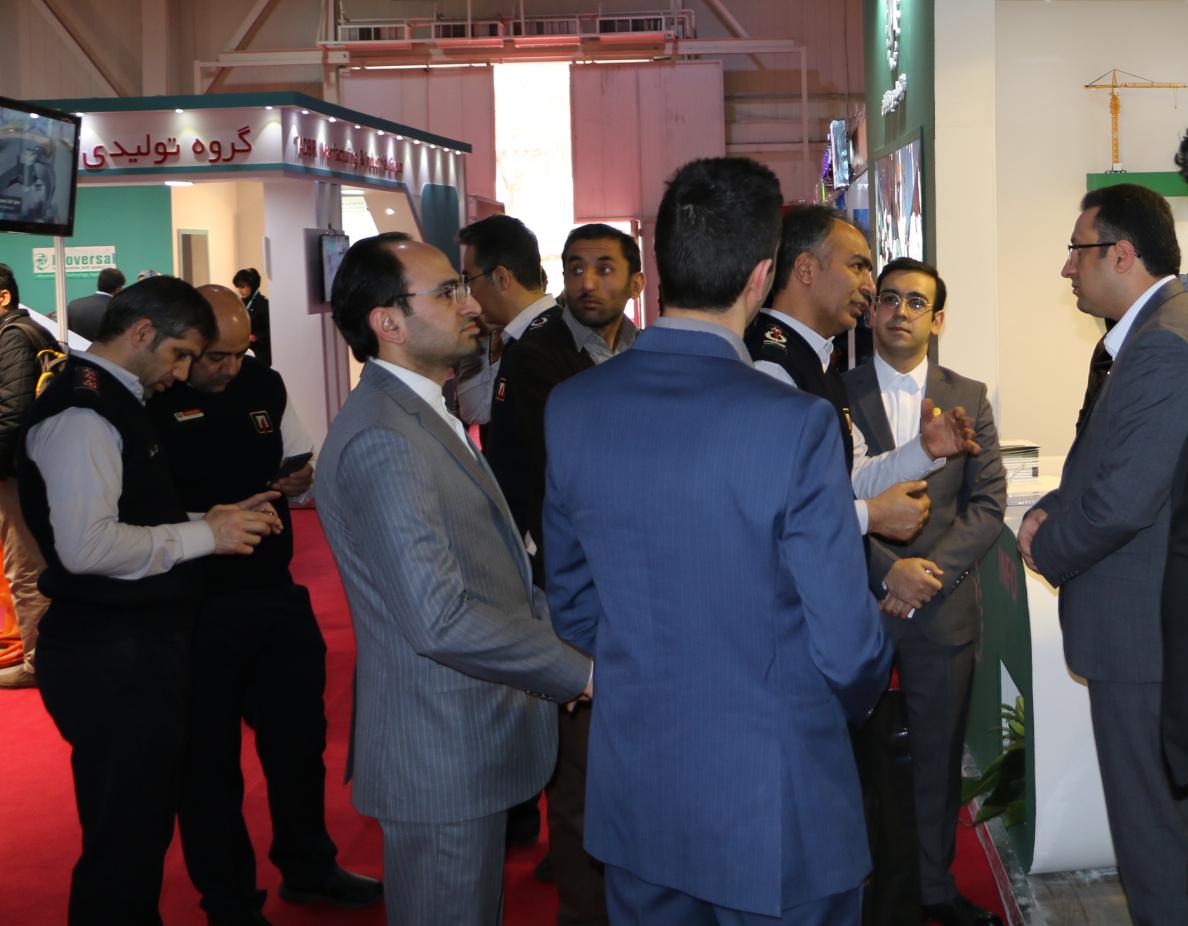 حضور در نمایشگاه بین المللی HSE